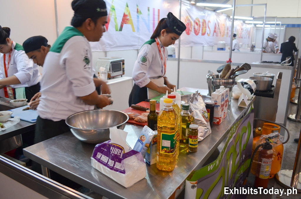 De La Salle Dasmarinas Culinary Students Contestants