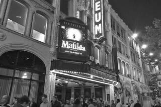 Matilda - Orpheum Theatre bw by roland luistro, on Flickr