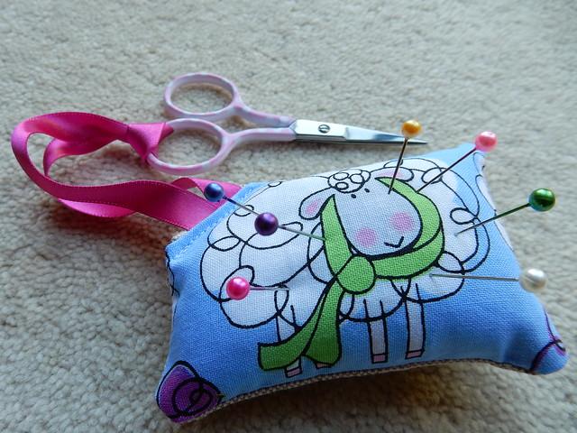 sheepy scissor fob (3)