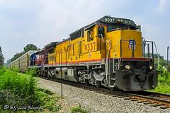 UP 9337 | GE C40-8 | CSX Memphis Subdivision