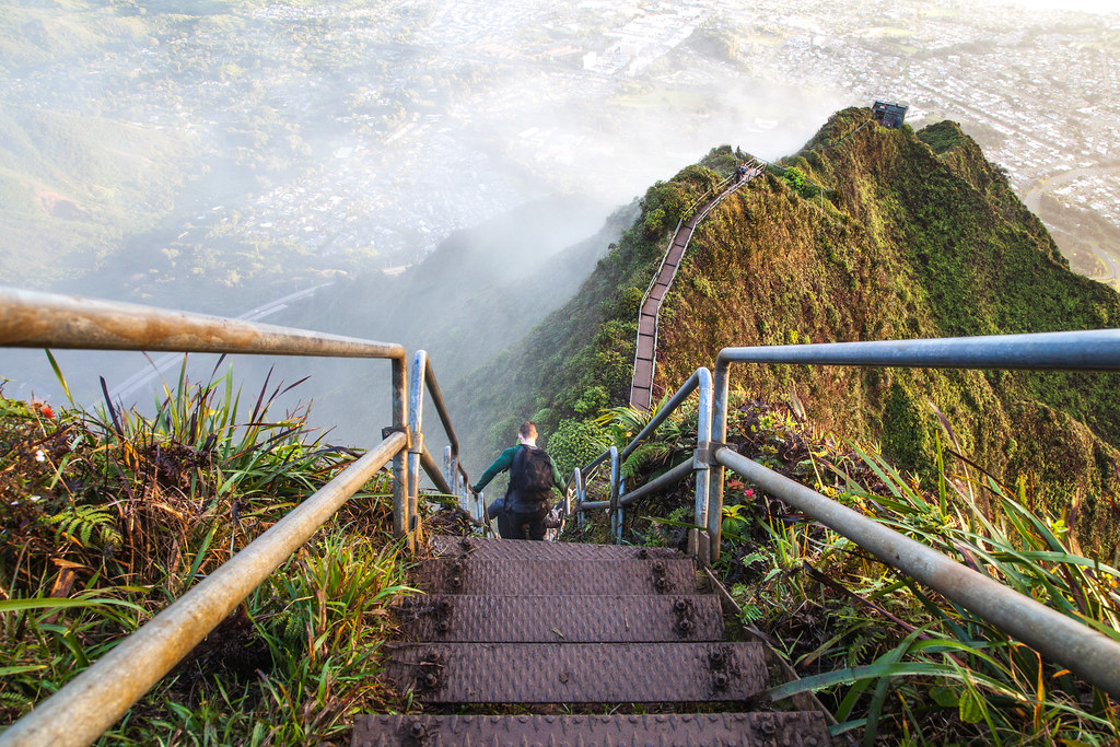 Haiku Stairs (Stairway to Heaven)
