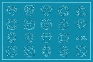 Gemstone cutting pattern volume 02 - preview
