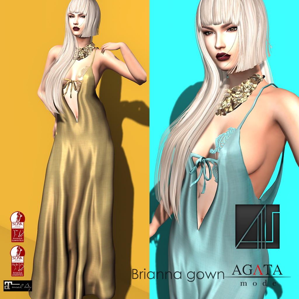 Brianna gown @ On9 - SecondLifeHub.com