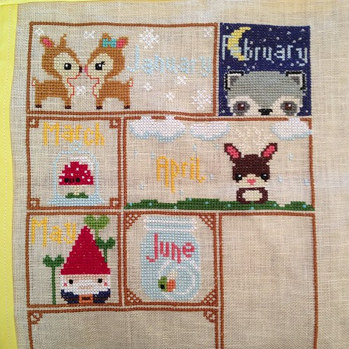 #woodlandsampler  January to June now finished.