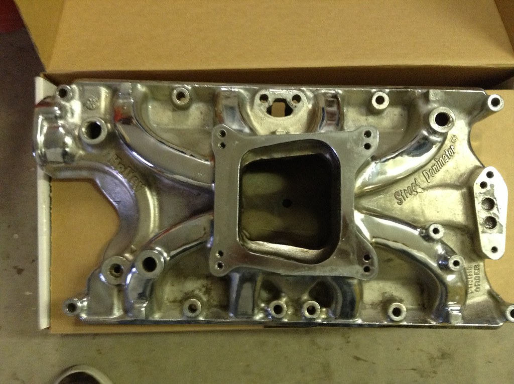 Holley Street Dominator 351w intake - Parts for Sale