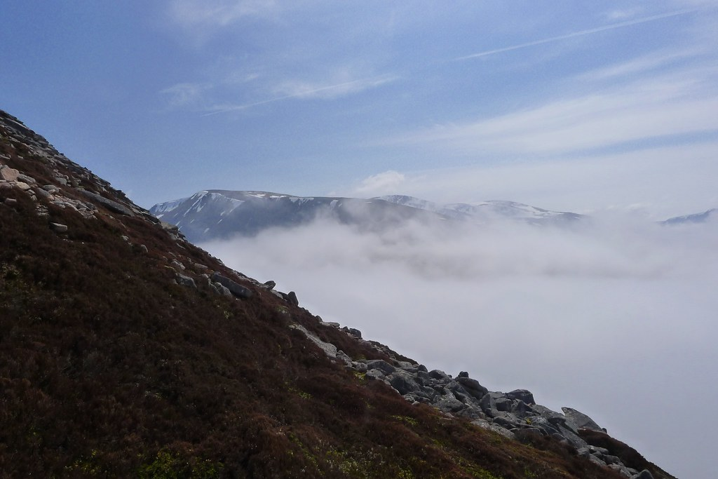 Braeriach above the inversion
