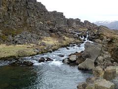 Öxará river in Þingvellir
