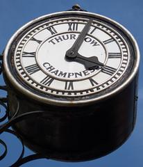Clock, Bury St. Edmunds