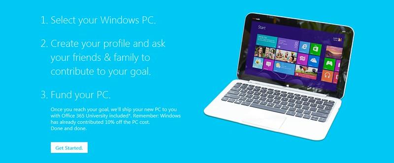 Windows Chip In