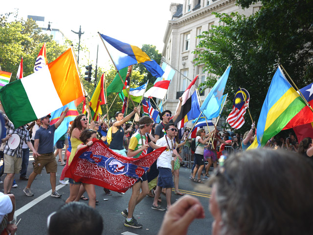 pride parade, washington dc, my fair vanity, style blog