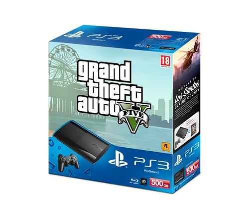 New PlayStation 3 Grand Theft Auto V Bundle and Custom Pulse