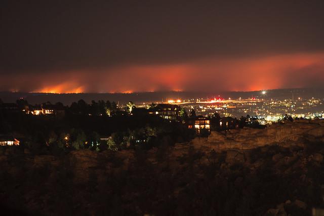 Black Forest Colorado Burning