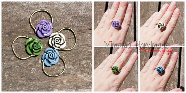 New flower rings