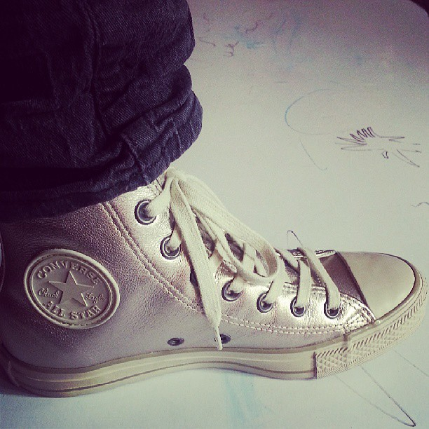 Voici mes nouvelles et premières paires de #converse . #solde #blog #blogueuse #mode #look #chaussures