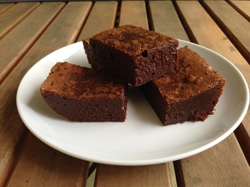 Taste of Home Cooking: Salted Fudge Brownies