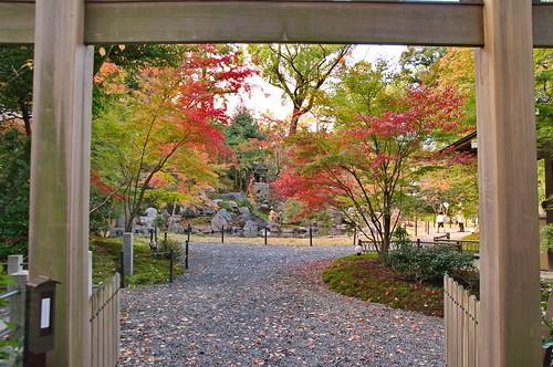 【写真】2012 紅葉 : 長岡天満宮/2020-10-09/IMGP6542