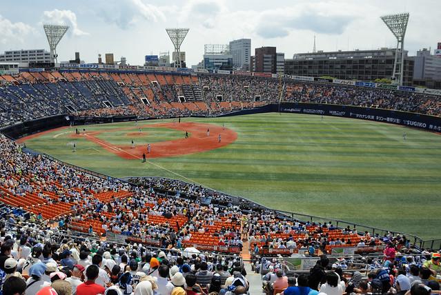 横浜DeNAベイスターズx中日ドラゴンズ/横浜スタジアム