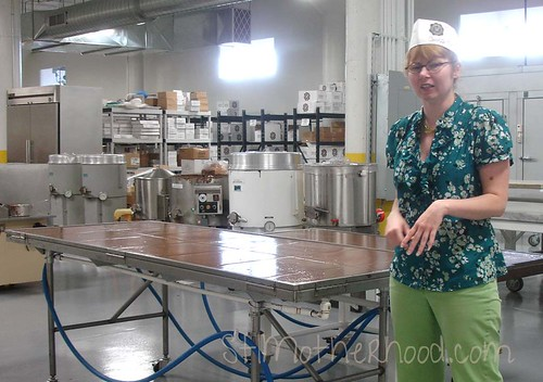 chocoate factory tour