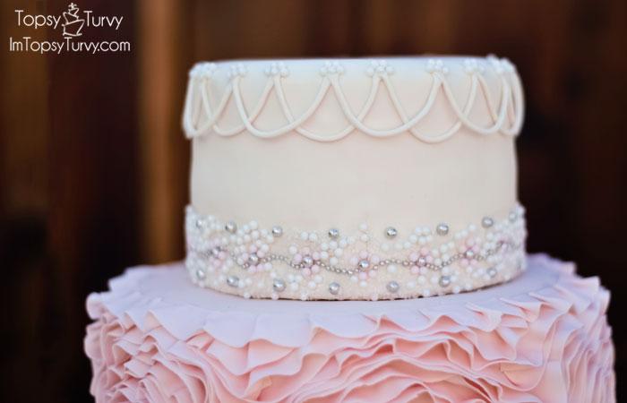 fondant-rosette-cake-edible-silver-pearls