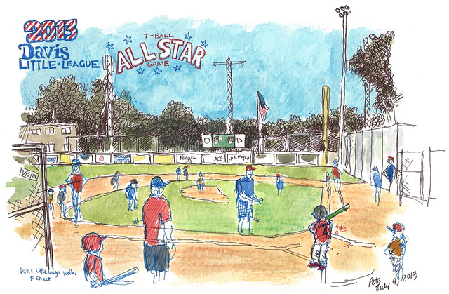 2013 little league t-ball all-star game