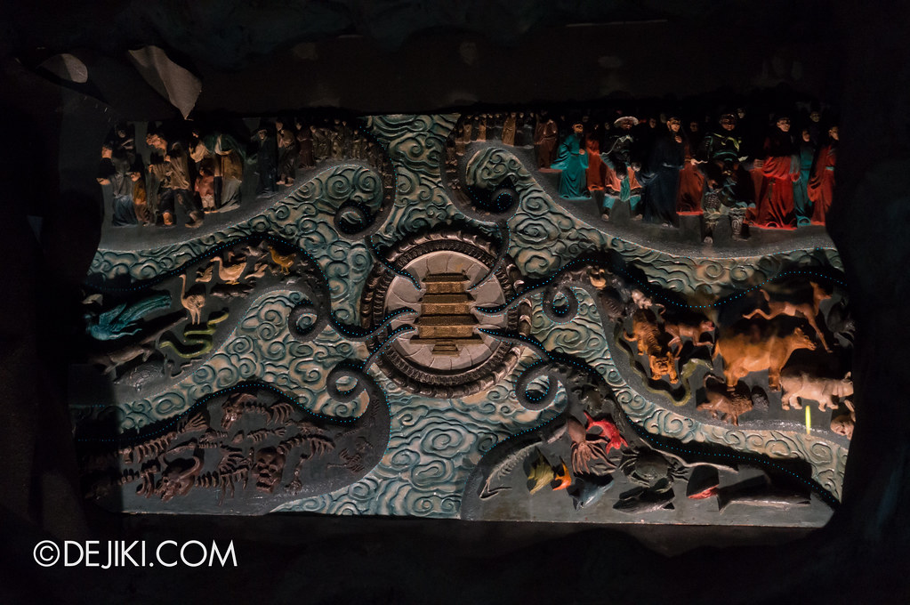 Haw Par Villa - inside ten courts of hell - Samsara Unraveling