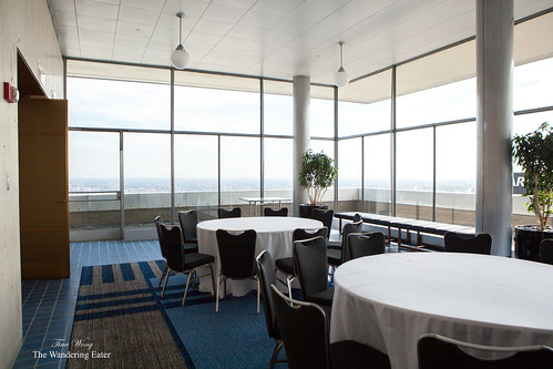 Inside the 33rd Floor Terrace/Howe Room