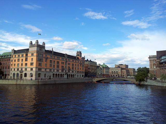 View from Vasa bridge