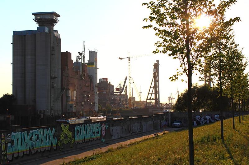 Schluisgrove Hafen Wilhelmsburg