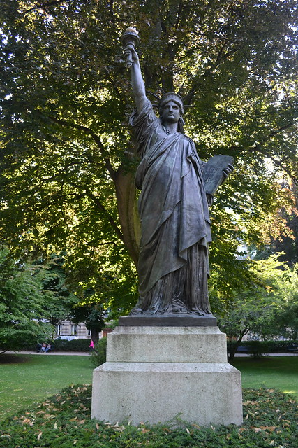 Paris Luxembourg Gardens Statue Of Liberty 3345 Flickr Photo Sharing