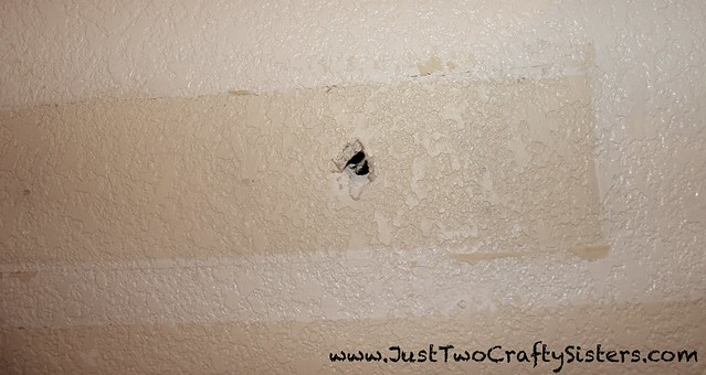 Patching holes to paint walls