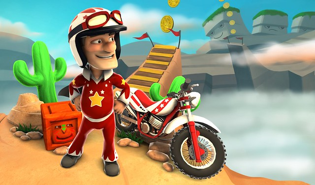 Joe Danger on PS Vita