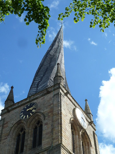 Church of St Mary and All Saints, Chesterfield ~ 11th May 2011