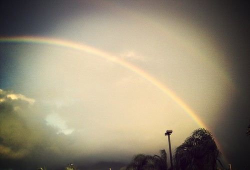 rainbow stkitts basseterre cloudyskies flickrandroidapp:filter=mammoth mainlycloudy