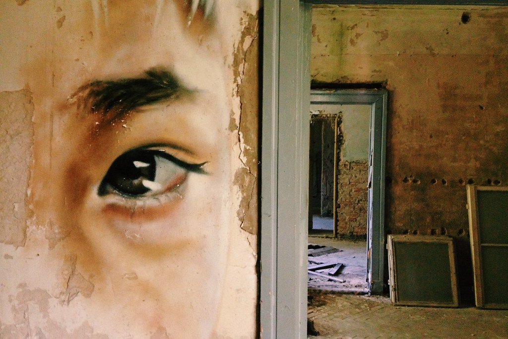 the walls have eyes