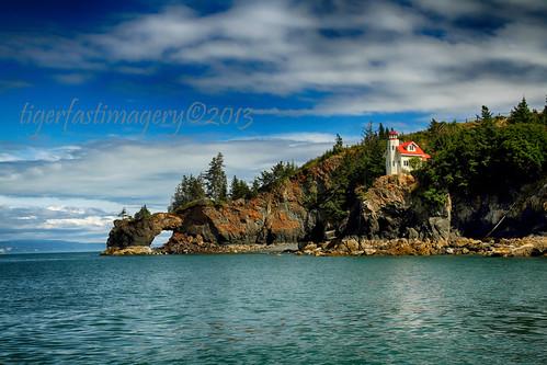 usa lighthouse alaska america community rocks ak arches cliffs kenaipeninsula kenai halibut halibutcove kachemakbay