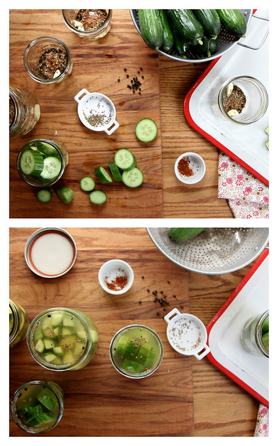 Garlic Dill Cucumber Pickles