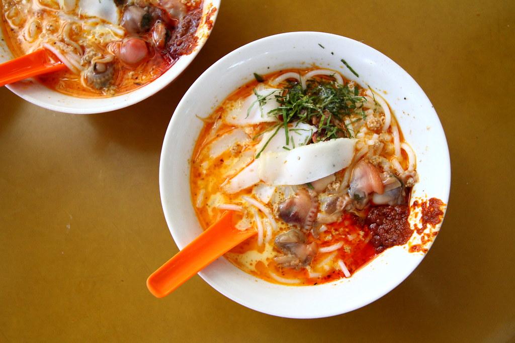 Sungei Road Laksa in bowl