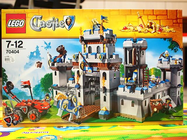 2013 城堡系列 70404 國王城堡 +70402 城門突襲