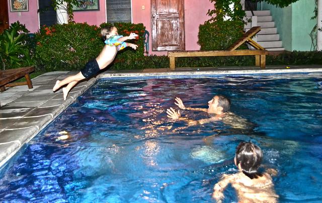 Pool fun - Atelie Del Mar Hotel - Monterrico, Guatemala