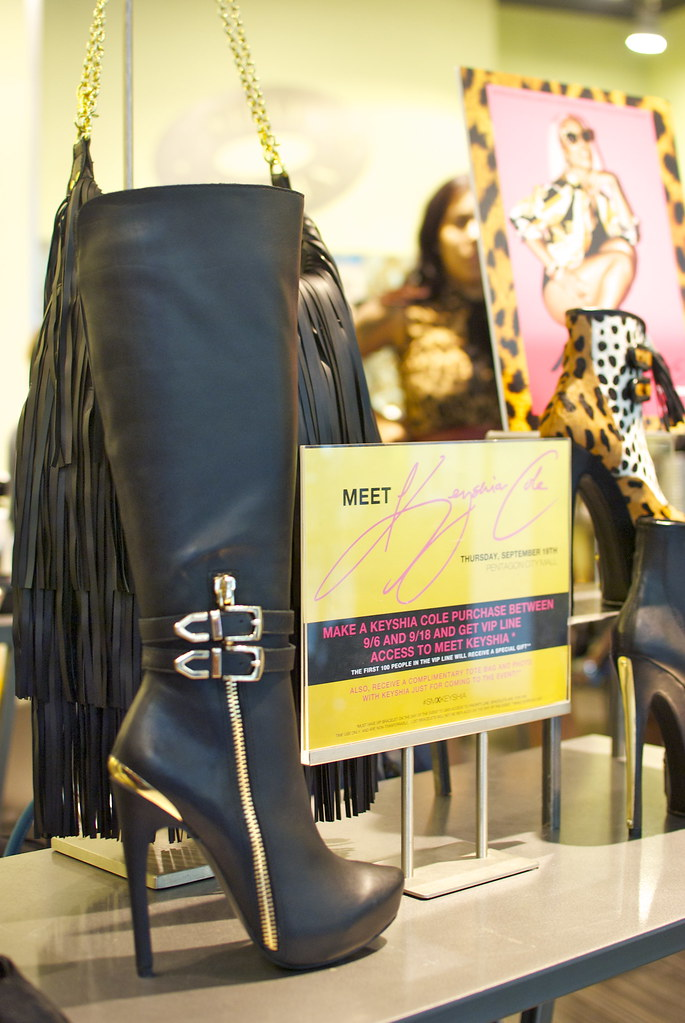 Steve Madden, Keyshia Cole, Pentagon City, Mall, Collaboration