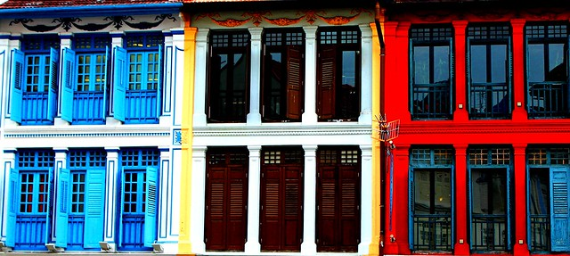 Keong Saik Street Singapore Doors #dailyshoot