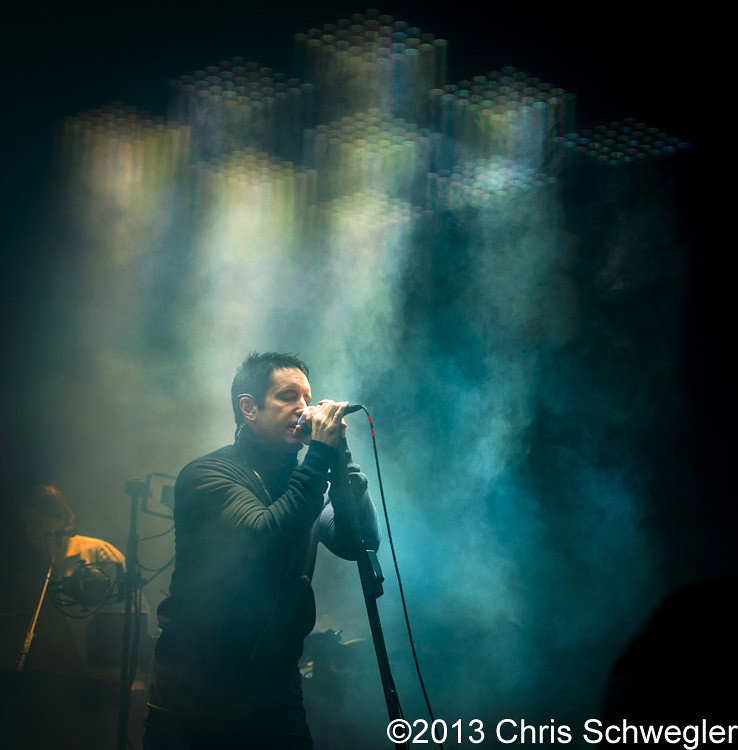 Photos of Nine Inch Nails from October 7th, 2013 at The Palace Of ...
