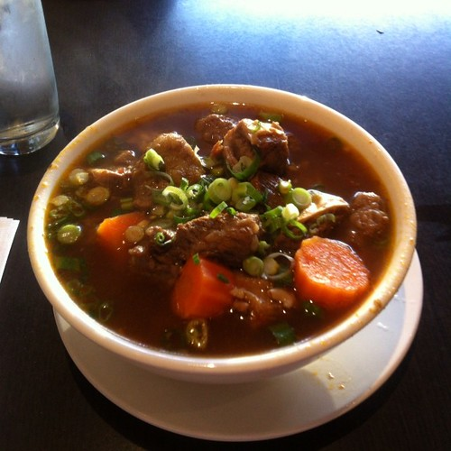 Vietnamese beef stew at Thanh Thanh #yegfood by raise my voice