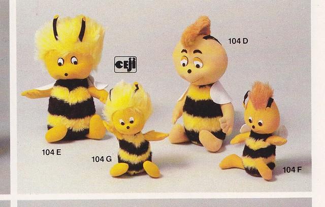 Maya l'abeille (Schleich) 1976 - MAJ 14/10/2013 - 10219563585_afb7a7f605_z