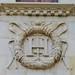 Médaillon aux Armes d'Henri IV, galerie néo-Renaissance, Musée national du château royal de Pau, Béarn, Pyrénées Atlantiques, Aquitaine, France. ©byb64