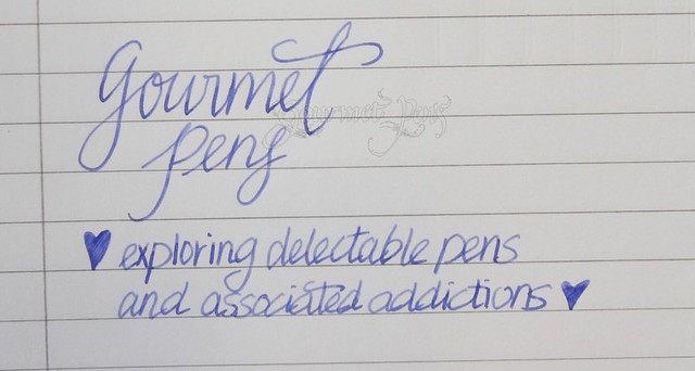 Kaweco Elite Fountain Pen - Medium Writing Sample