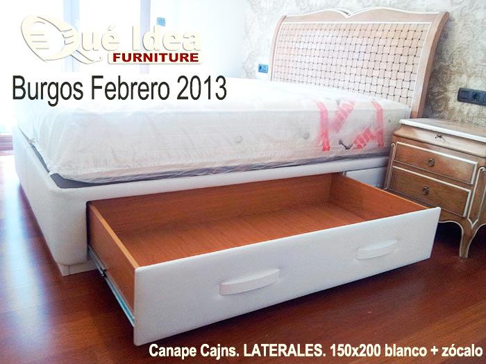 Canap s cama con cajones qu idea hogar for Como hacer una cama con cajones