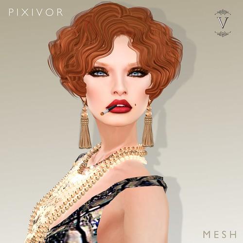 VanityHair@Pixivor by Tabata Jewell