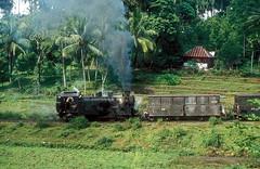 * Indonesien  Dampfloks # 7  PJKA  New Scan