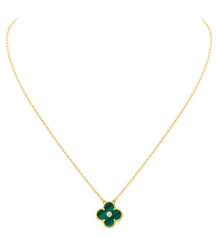 VCARO49S00_Vintage Alhambra pendant yellow gold malachite round diamond_475254.jpg